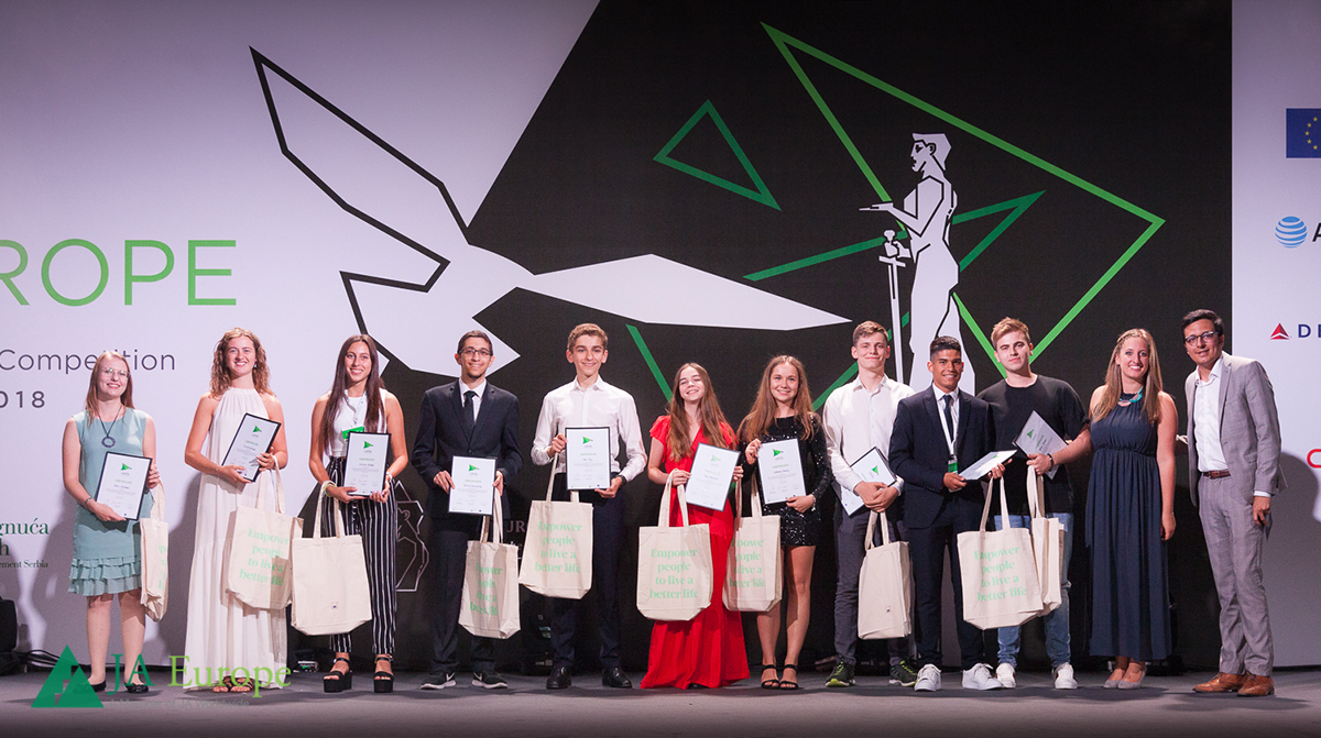 JA Alumni Leadership Awards supported by AXA